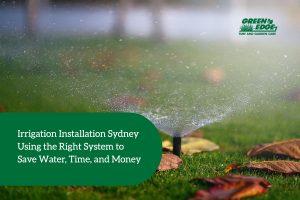 irrigation installation sydney